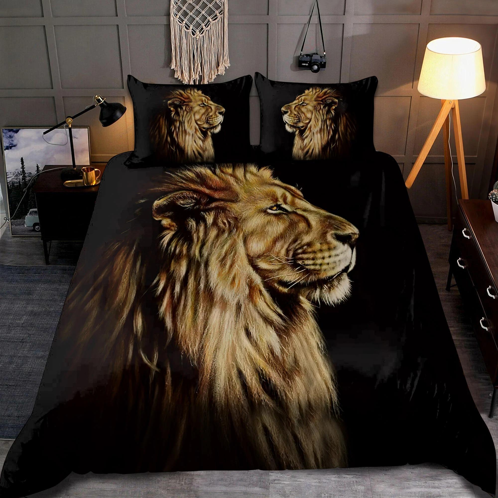 Lion King Portrait Bedding Set