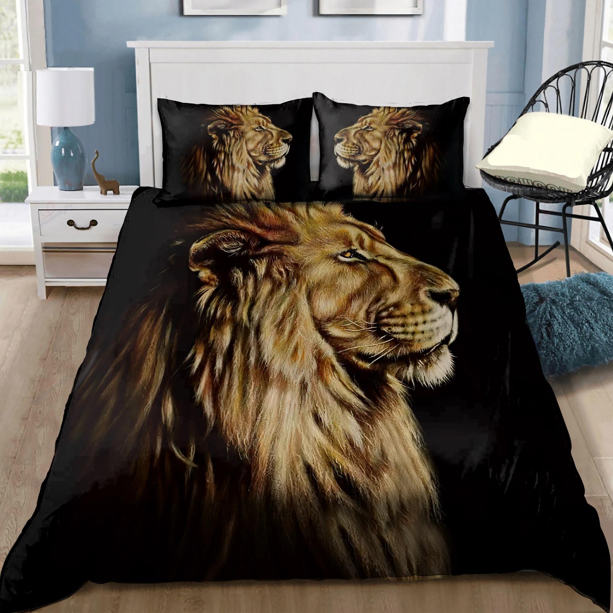 Lion King Portrait Bedding Set1