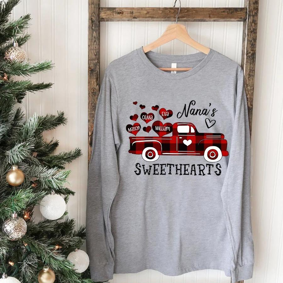 Nana's Sweethearts Personalized Sweatshirt