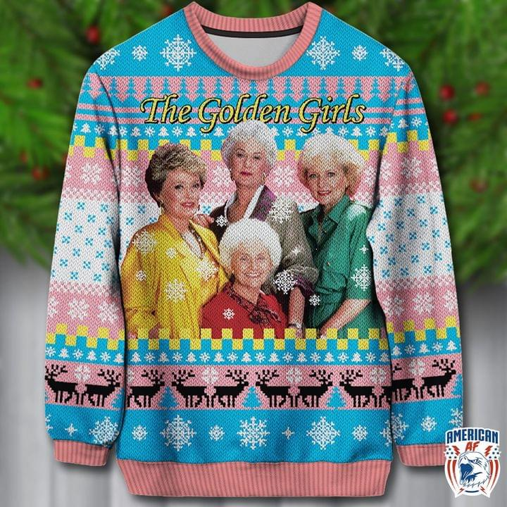 The Golden Girl Ugly Christmas Sweaters