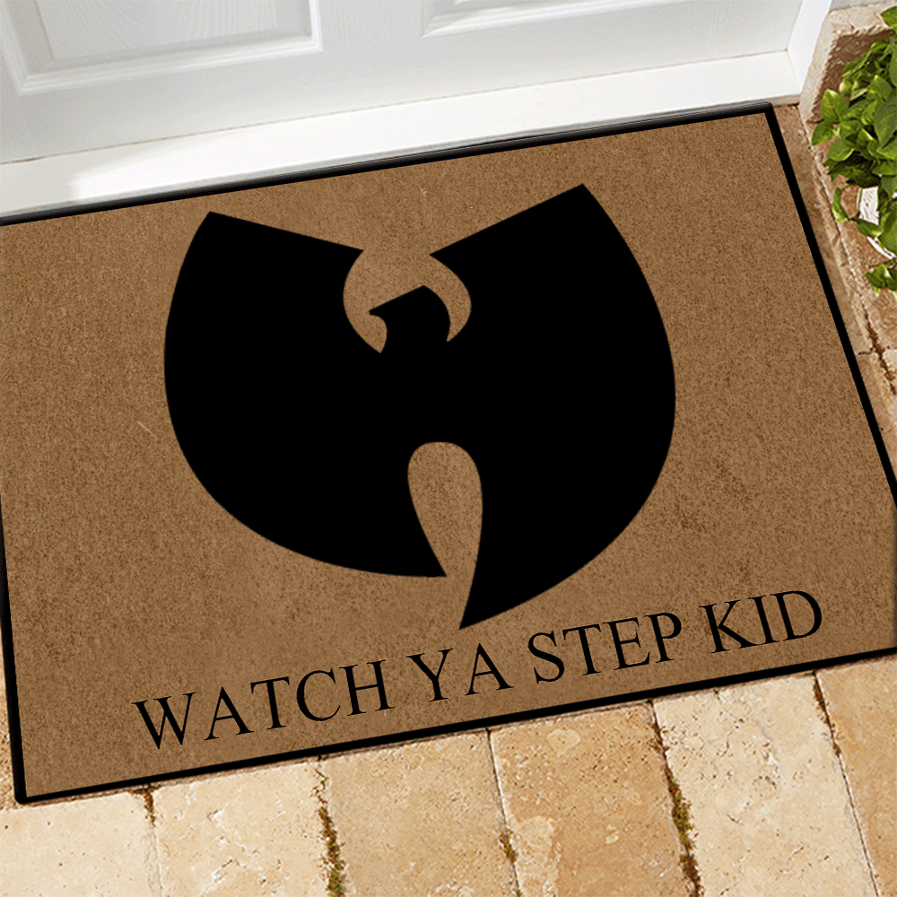Wu-Tang Clan Watch ya step kid doormat 2