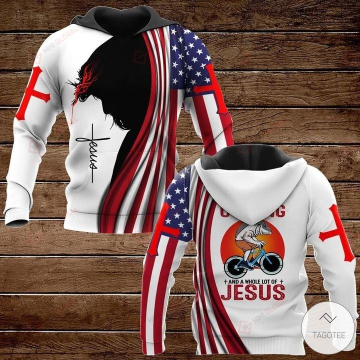 All I Need Today is A Little Bit of Cycling and A Whole Lot of Jesus Hawaiian shirt, hoodies and sweatshirt2