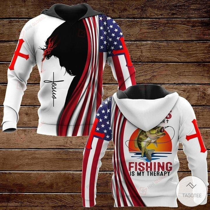 All I Need Today is A Little Bit of Fishing and A Whole Lot of Jesus Hawaiian shirt, hoodies and sweatshirt2