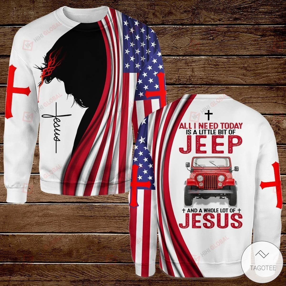 All I Need Today is A Little Bit of Jeep and A Whole Lot of Jesus Hawaiian shirt, hoodies and sweatshirt3