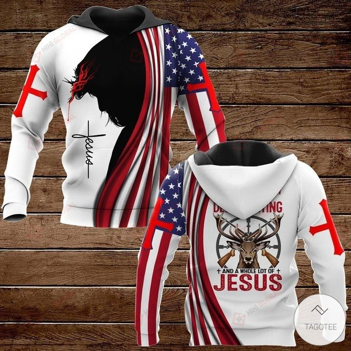 All I Need Today is A Little Bit of hunting and A Whole Lot of Jesus Hawaiian shirt, hoodies and sweatshirt2