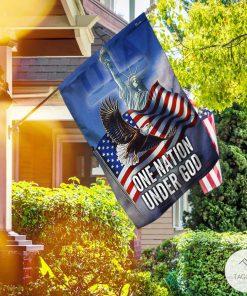 Bald Eagle One Nation Under God Garden Flag