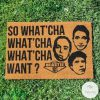 Beastie Boys - So What'Cha Want Doormat_result
