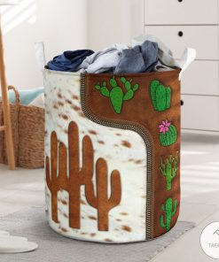 Cactus Leather Laundry Basket_result