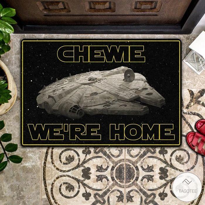 Chewie We're Home Doormat