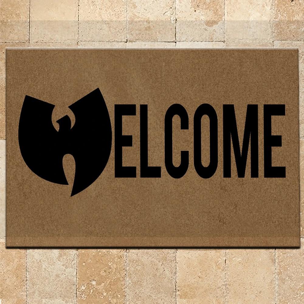 Customized Name Wu-Tang Clan Welcome Doormat 3