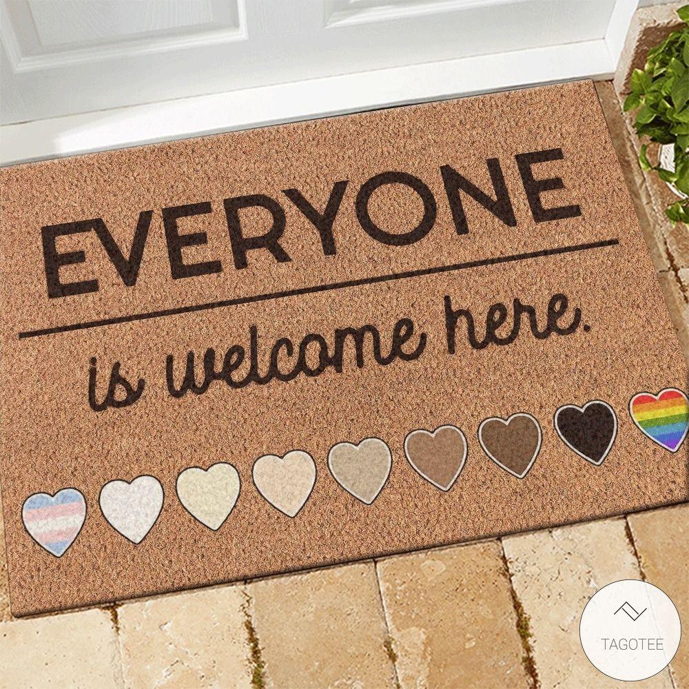Everyone Is Welcome Here Doormat 1_result