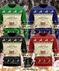 Full Of Christmas Spirit Probably Bourbon Ugly Christmas Sweater