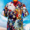 Goat Colorful Hawaiian shirt