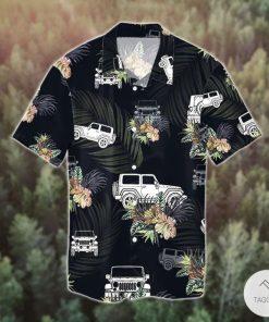 Jeep Wrangler Tropical Hawaiian Shirt