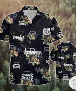 Jeep Wrangler Tropical Hawaiian Shirt2