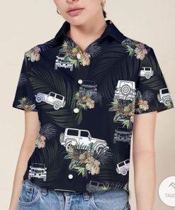 Jeep Wrangler Tropical Hawaiian Shirt3