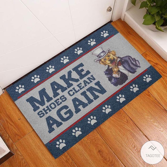 Make Shoes Clean Again Dog Doormat