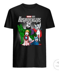 Siberian Husky Huskyvengers Shirt