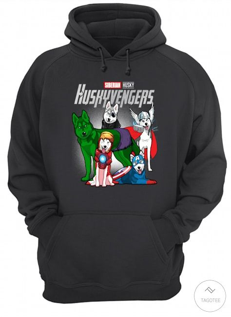 Siberian Husky Huskyvengers Shirt3