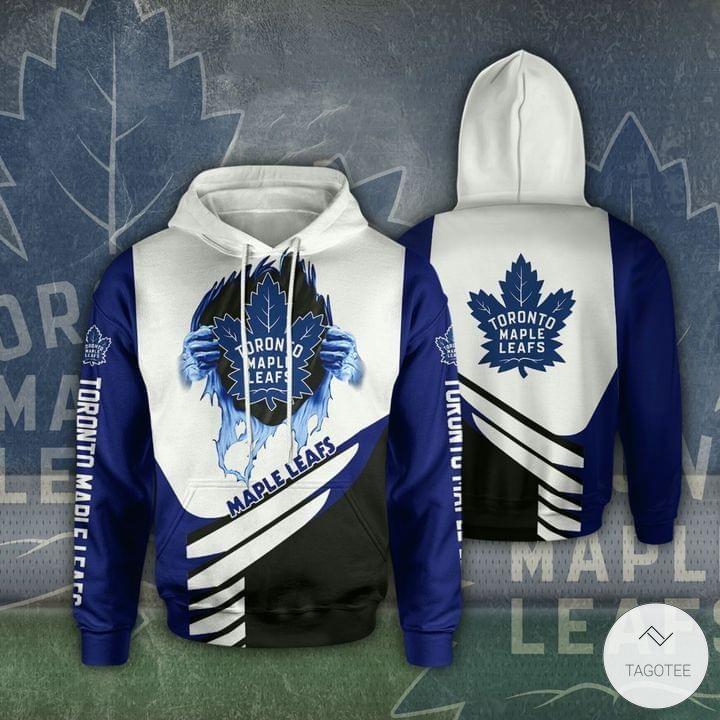 Toronto Maple Leafs 3D Hoodie_result