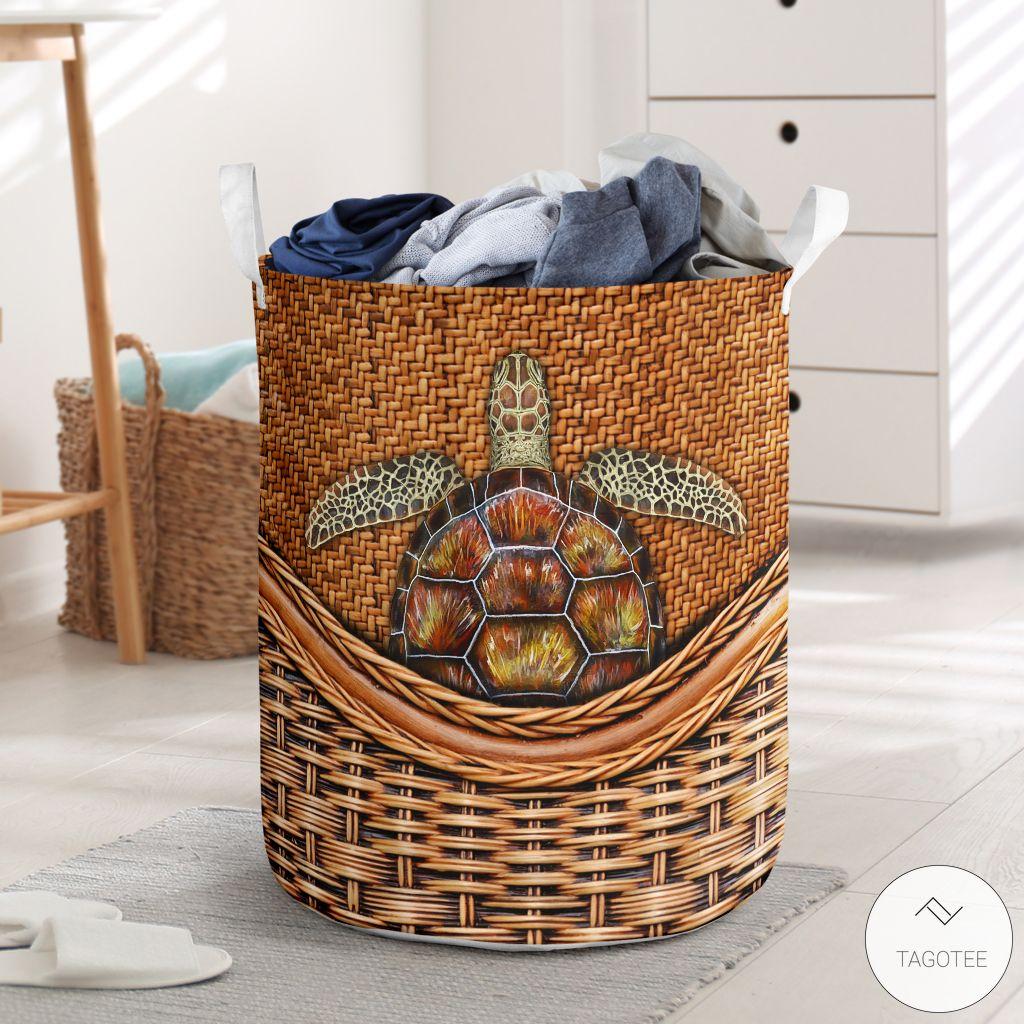 Turtle Laundry Basket