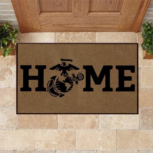 Hot USMC Home Doormat