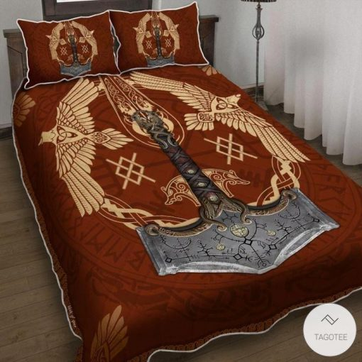 Viking Ravens Mjolnir Bedding Sets_result