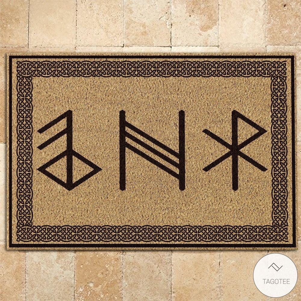 Viking Rune Symbols Doormat3_result