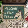 Welcome Madafakas - Unicorn Doormat