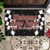 Welcome Race Fans I Hope You Brought Beer Doormat