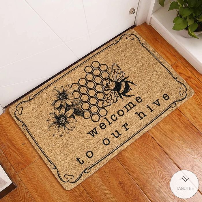Welcome To Our Hive - Bee Doormat