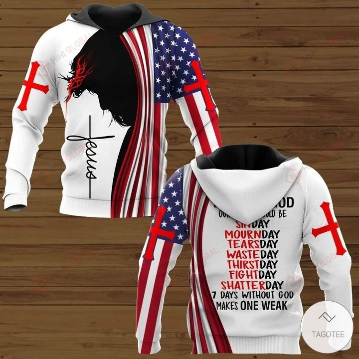 Without god our week would be sinday mournday tearsday hawaiian shirt, hoodie and sweatshirt2