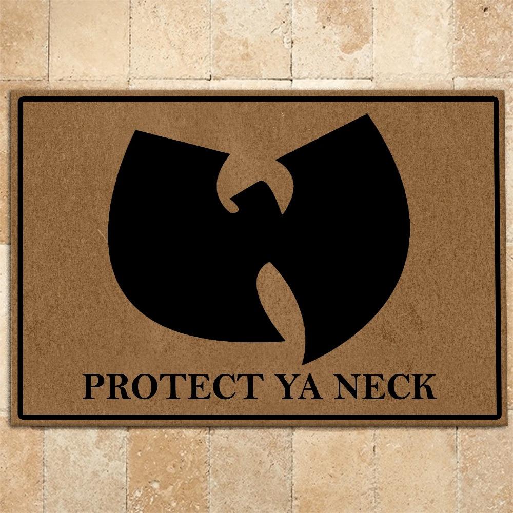 Wu-Tang Clan Protect Ya Neck Doormat2