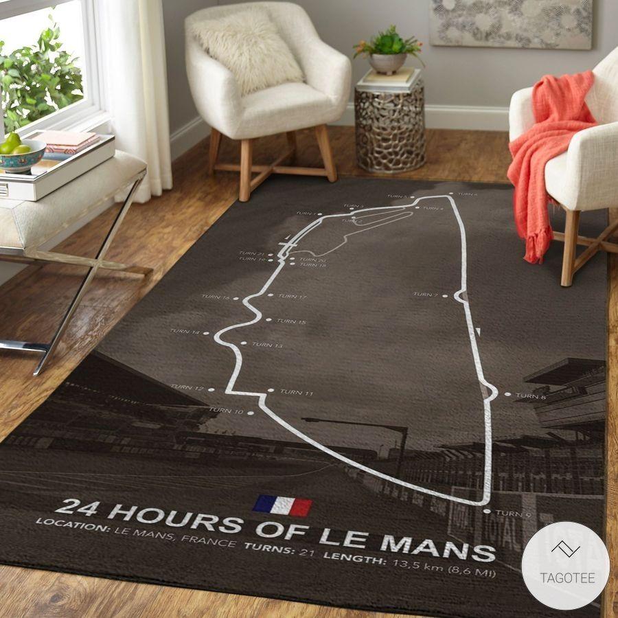 24 Hours Of Le Mans France Rug