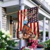 3 Barrels 2 Hearts 1 Dream Garden Flag