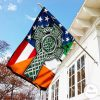 Celtic Cross Irish Garden Flag