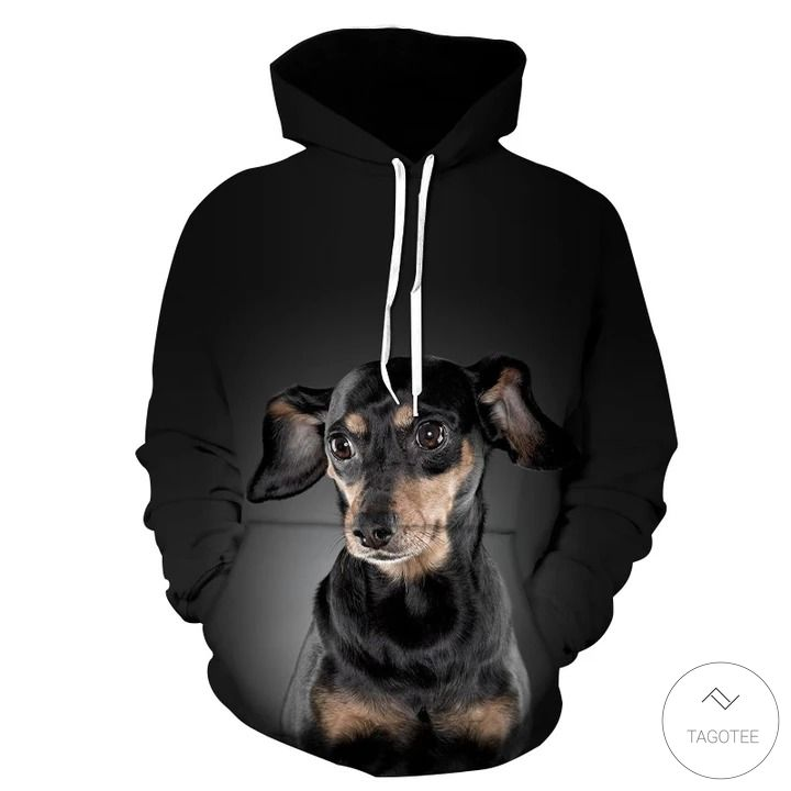 Dachshund 3D All Over Print Hoodie