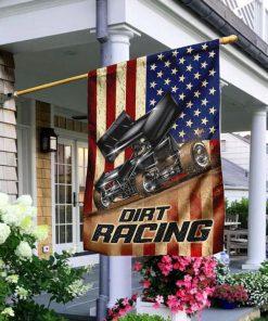 Dirt Racing Garden Flags