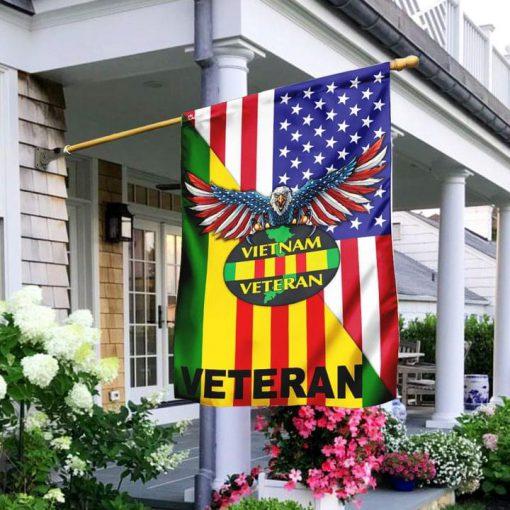 Eagle USA Vietnam Veteran Garden Flag
