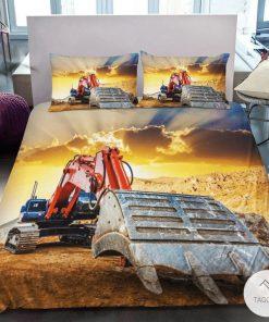 Excavator bedding sets