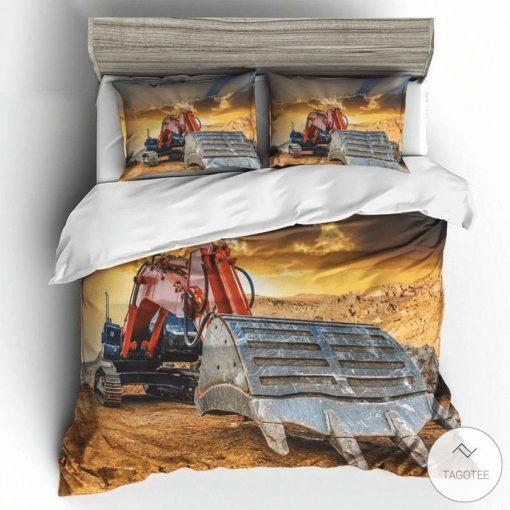 Excavator bedding setsz