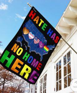 Hate Has No Home Here Garden Flagx