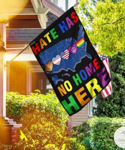 Hate Has No Home Here Garden Flagz
