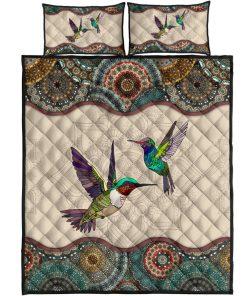 Hummingbird mandala bedding sets new 3