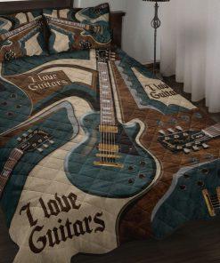I Love Guitars Bedding Sets