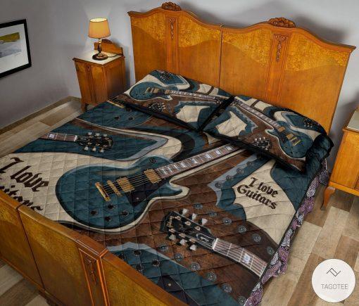 I Love Guitars Bedding Setsx