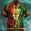 Jamaica Lion Hawaiian Shirt