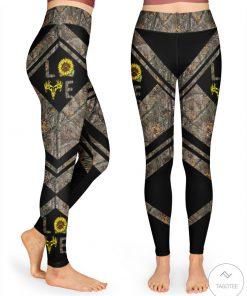 Love Hunting Camo Sunflower 3D Leggings