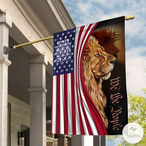 One Nation Under God We The People Garden Flag