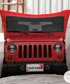 Personalized Jeep Pillow